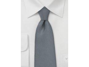 Kravata antracitová