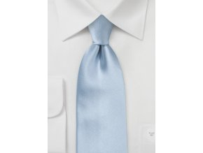 Kravata světle modrá hedvábná